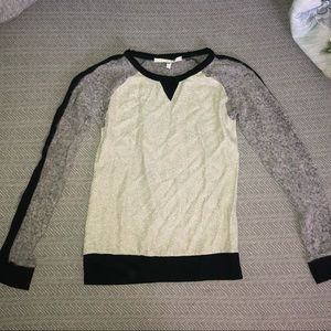Foil Style Sweater